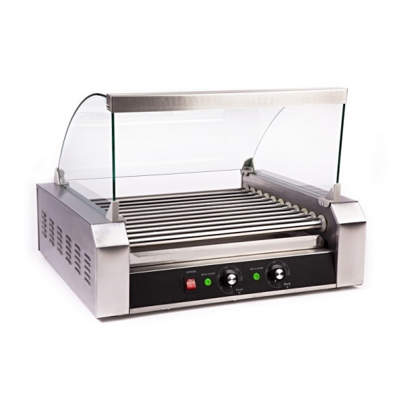 HOT DOG ROLLER GRILL RCHG-11E 11 ΚΥΛΙΝΔΡΟΙ ΜΕ ΚΑΠΑΚΙ