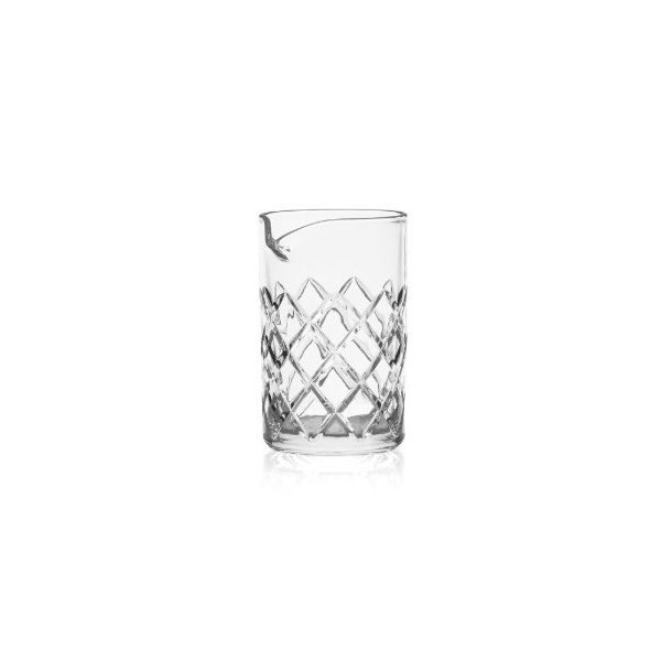 Rona Stiring Glass κρυσταλλινης Diamond cut 17cl