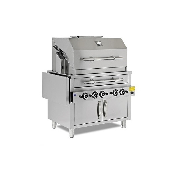 Ψησταριά Αερίου Barbeque Grill - 1260x700x850/1325mm EMPERO EMP.PBK.02