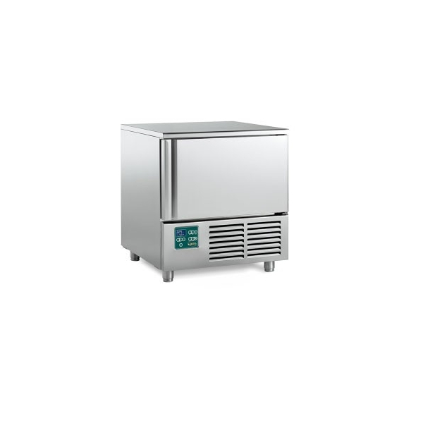 Blast Chiller-Shock Freezer Χωρητικότητας: 5xGN1/1 - 790x700x800mm HIBER RDM 050S