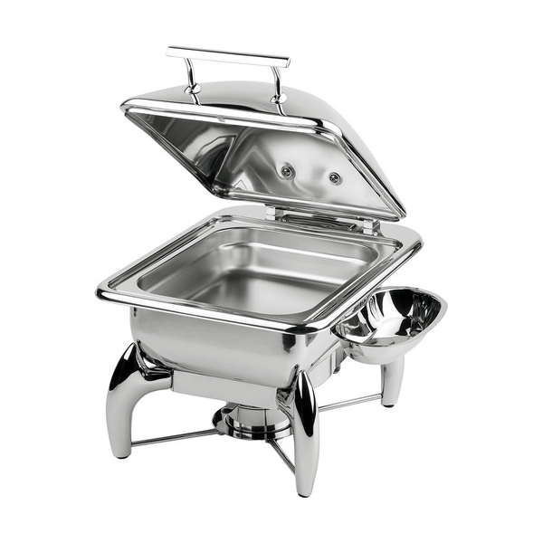 Μπαιν μαρι 5.5 lt με βάση για induction GN 2/3 44x41x34cm chafing dish GLOBE APS 12483