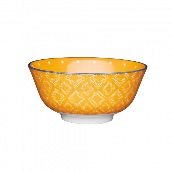 KitchenCraft a bowl in one Orange spot μπολ 15.5cm/7.5cm