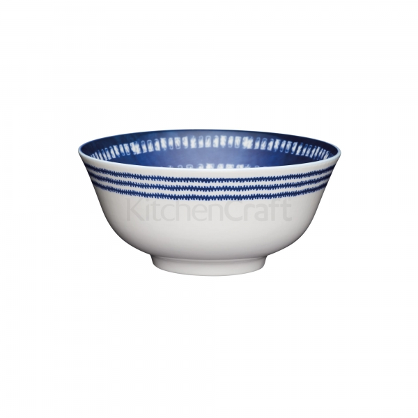 KitchenCraft a bowl in one Blue tile μπολ 15.5cm/7.5cm