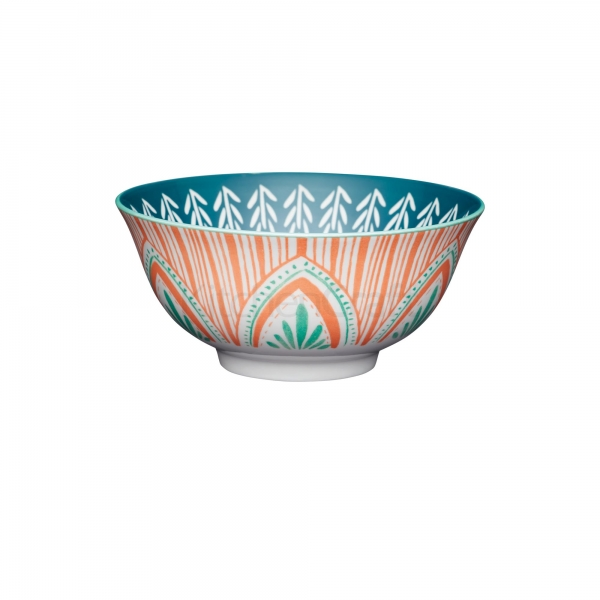 KitchenCraft a bowl in one Mixed Folk μπολ 15.5cm/7.5cm