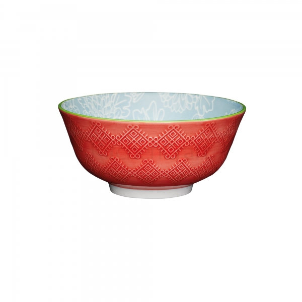 KitchenCraft a bowl in one Grey floral μπολ 15.5cm/7.5cm