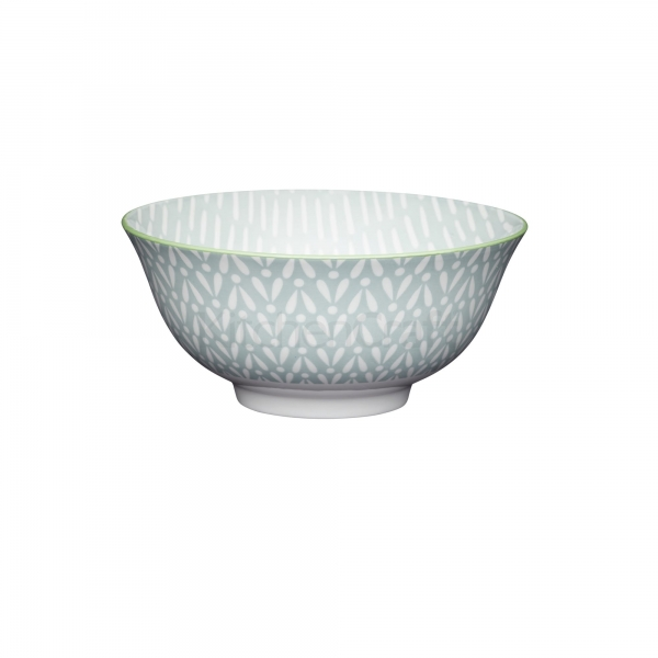 KitchenCraft a bowl in one Grey Tile μπολ 15.5cm/7.5cm