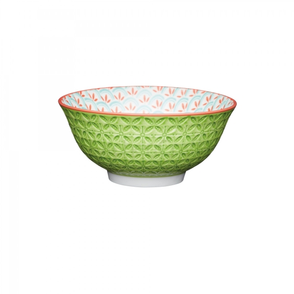 KitchenCraft a bowl in one Geometric Line μπολ 15.5cm/7.5cm